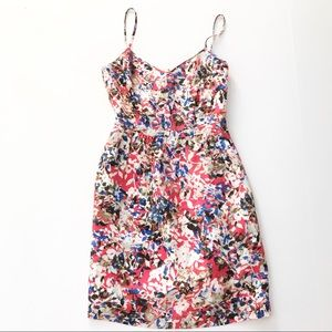J Crew NWT Dress Pockets Size 00 Bright summer